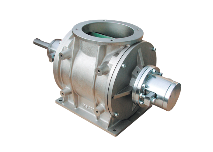 Drop through rotary valve type VPR/se (high temperature)