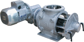 Drop through rotary valve type VPR/SR (quick disessambly)